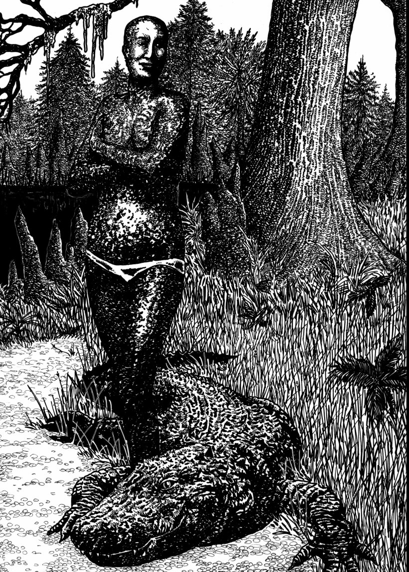 esther-blackmon-the-alligator-skinned-woman