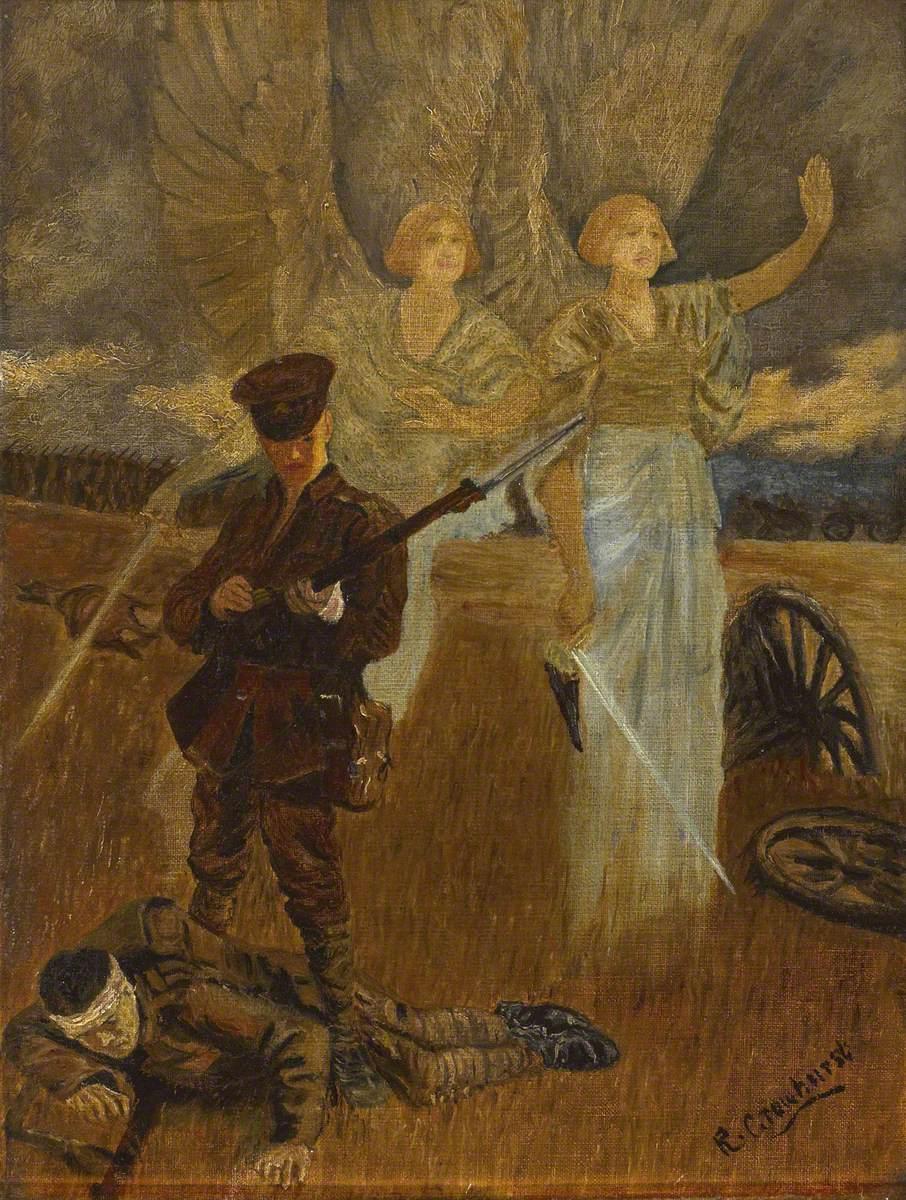 Crowhurst, R.; The Angel of Mons, c.1914