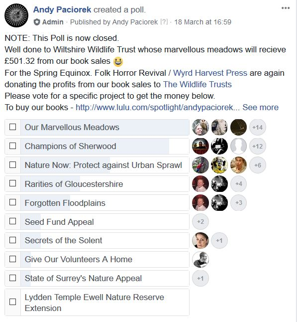 spring 18 poll